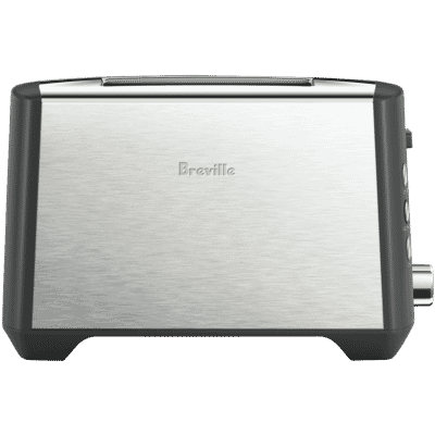 Breville - The Bit More Plus 2 Slice Toaster - Stainless Steel